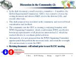 discussion in the community 2