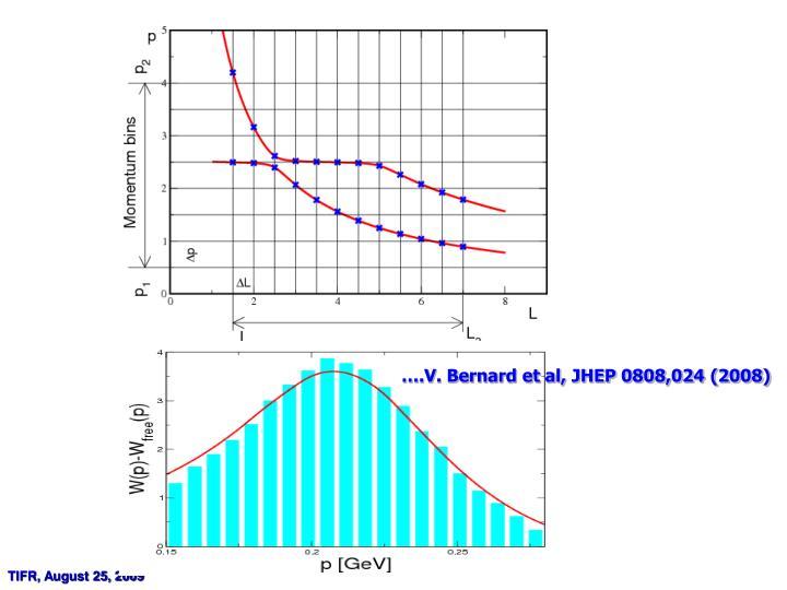 ….V. Bernard et al, JHEP 0808,024 (2008)