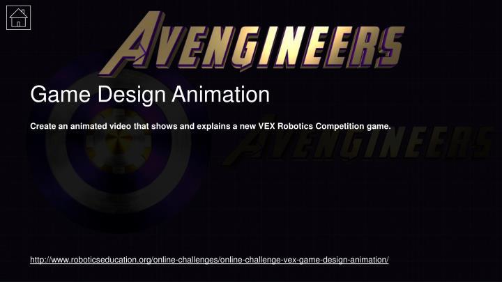 Game Design Animation