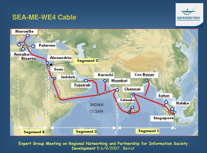 SEA-ME-WE4 Cable