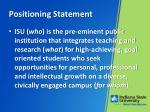 positioning statement