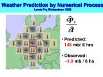 weather prediction by numerical process lewis fry richardson 19222