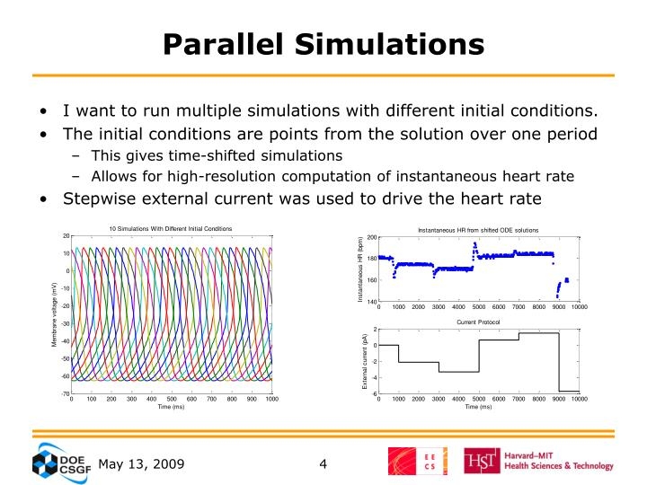 Parallel Simulations