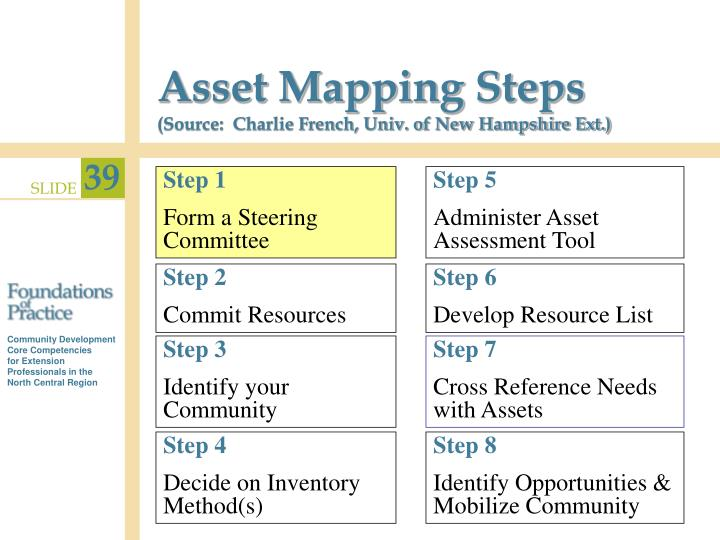 Asset Mapping Steps