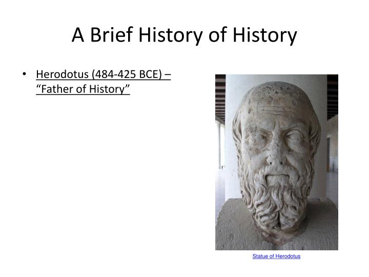 a brief history of history n.