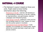 national 4 course2