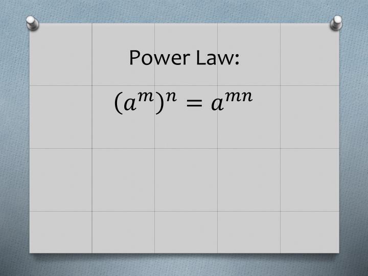 Power Law: