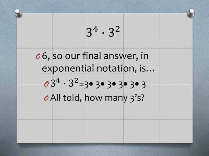 6, so our final answer, in