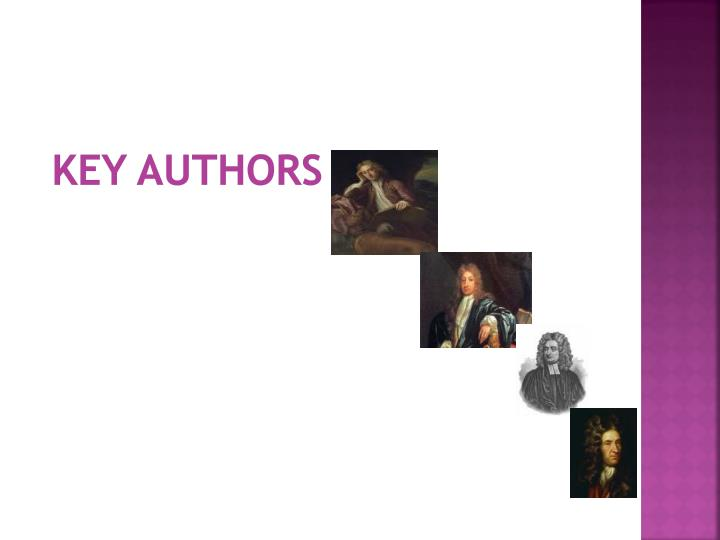 Key authors