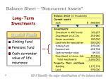 balance sheet noncurrent assets3