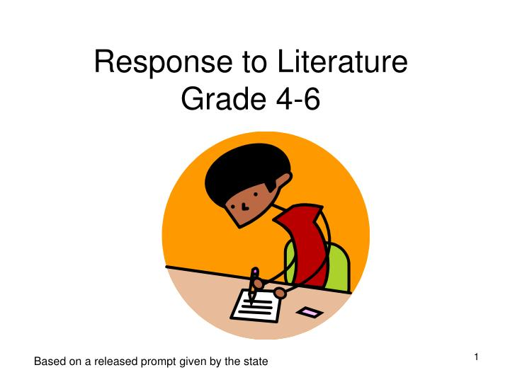"response to literature essay prompt Prompt sample student essays ""why literature and there is a clear progression of ideas within paragraphs and across the essay as a whole the response."