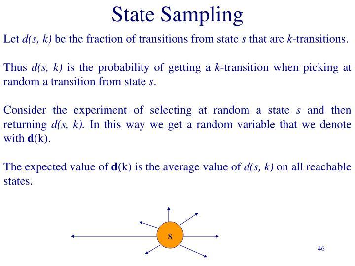 State Sampling