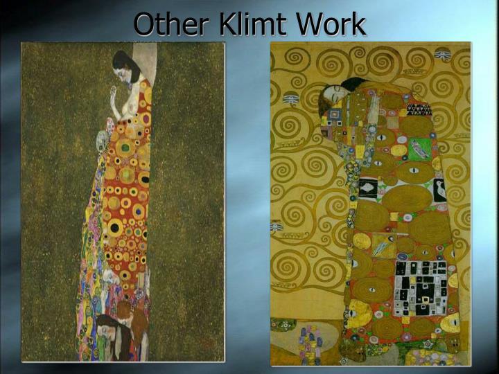 Other Klimt Work