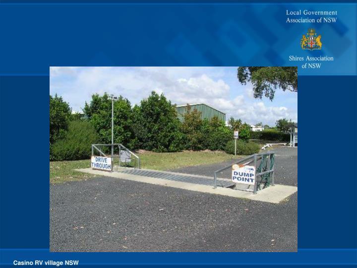 Casino RV village NSW