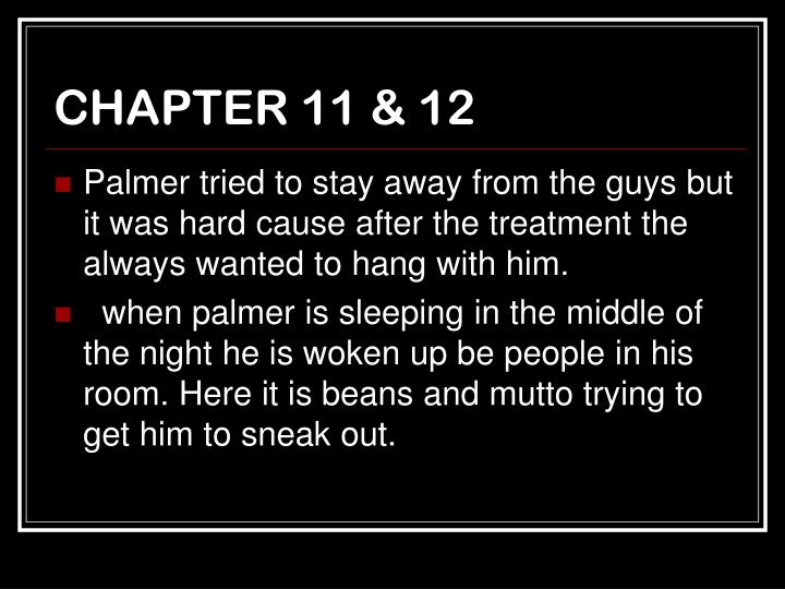 CHAPTER 11 & 12