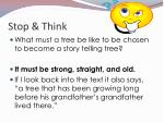 stop think