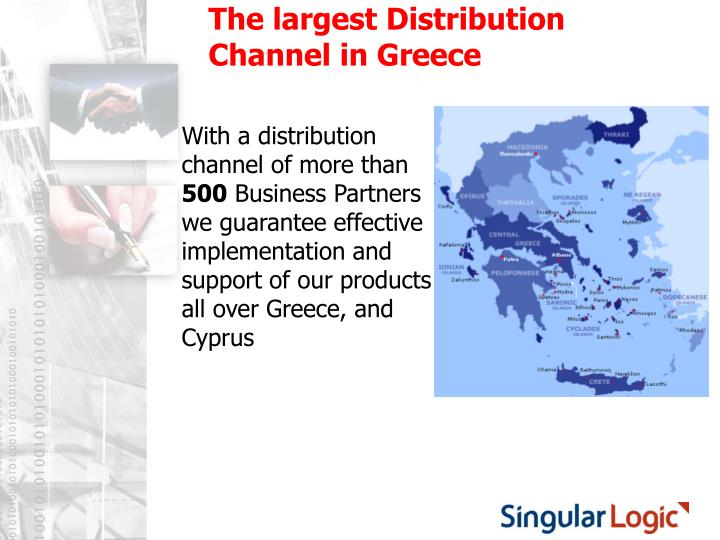 The largest Distribution Channel in Greece