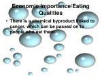 economic importance eating qualities2