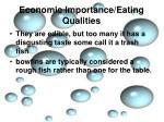 economic importance eating qualities3