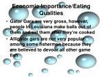 economic importance eating qualities5
