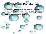 habitat and distribution1