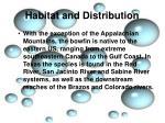 habitat and distribution3