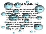 habitats and distribution2