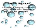 laws and regulation