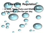 laws and regulation6