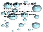 physical characteristics8