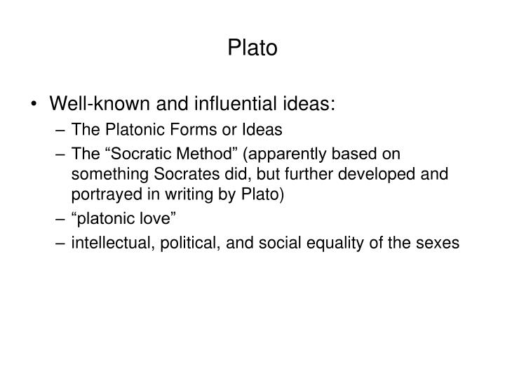 socrates and plato essay question Essay, research paper plato was among the most important and creative thinkers of the ancient world plato's writings attest to great influence on him this could be a good explanation to why plato uses socrates to voice his own opinions about his ideal state.