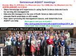 semiannual aqast meetings