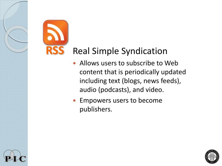 Real Simple Syndication