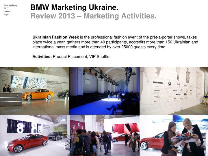 Ppt Awt Bavaria Ukraine Bmw Marketing 2013 Powerpoint