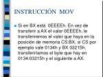 instrucci n mov8
