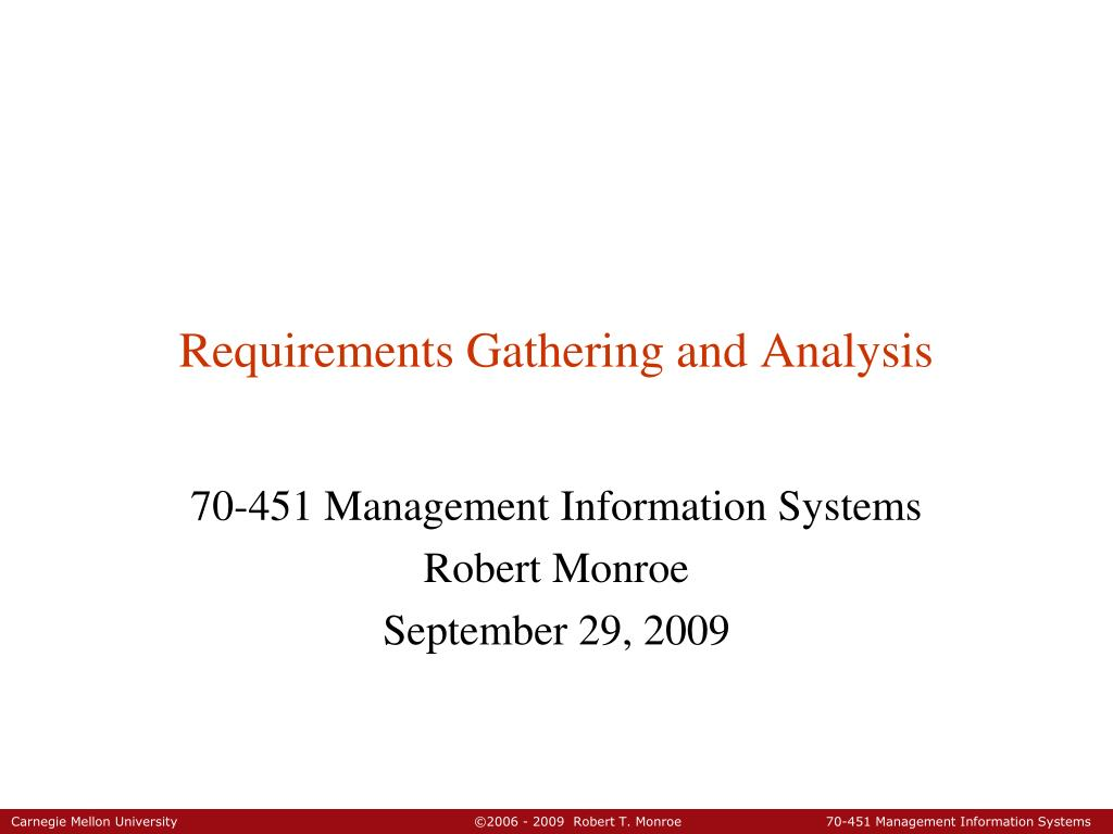 PPT Requirements Gathering And Analysis PowerPoint Presentation - Requirements gathering