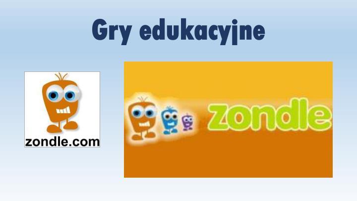 Gry edukacyjne