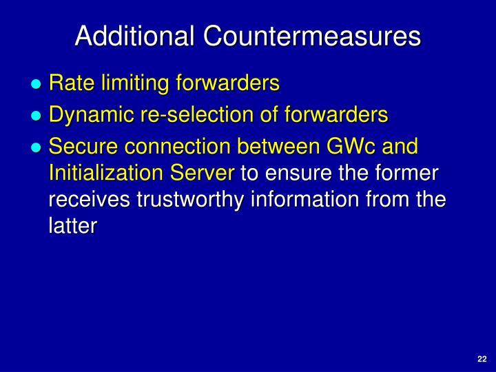 Additional Countermeasures
