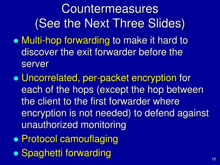 Countermeasures