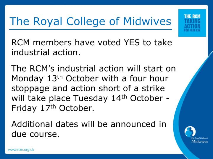 The royal college of midwives1