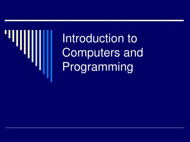 introduction to oop