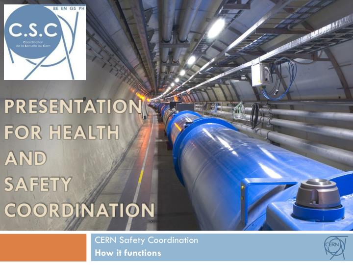 presentation for health and safety coordination n.