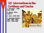 us interventions in the caribbean and cenam2