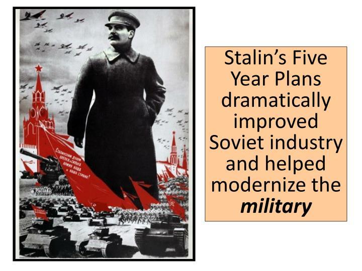 stalins five year plan