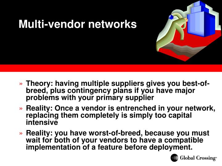 Multi-vendor networks