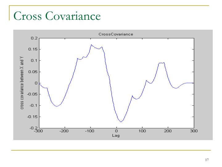 Cross Covariance