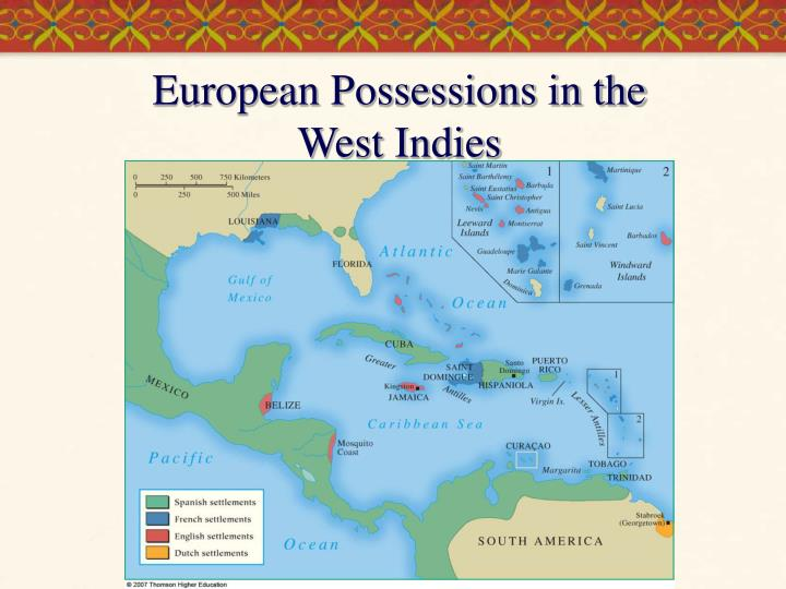 European Possessions in the