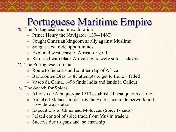 Portuguese Maritime Empire