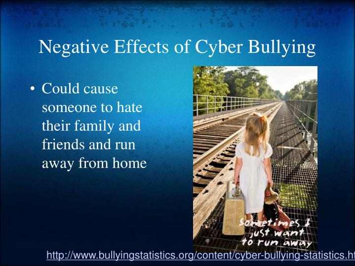cause effects of bullying What are the effects of cyberbullying the stress of bullying also can cause stress-related conditions like stomach ulcers and skin conditions.