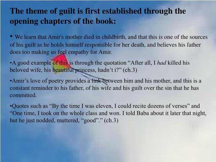 kite runner essay is amir The kite runner by khaled hosseini english literature essay print self discovery is a very important theme in the kite runner throughout the story, amir is.